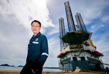 "Chevron Affirms Its Leadership in Technology and Safety with the Launch of ""Kratong"" New Oil Rig in the Gulf Of Thailand"