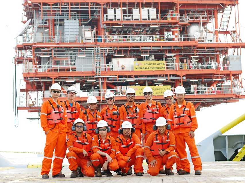 Mubadala Petroleum Thailand announced has accreditation of ISO 14001 and OHSAS 18001