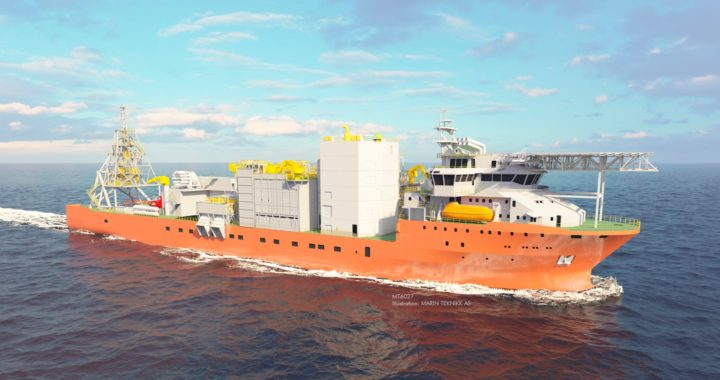 ABB Supplying Power System For Diamond Recovery Vessel